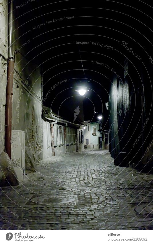 Old Town Loneliness Dark Sadness Lanes & trails Exceptional Stone Gray Moody Fear Adventure Historic Threat Old town Downtown