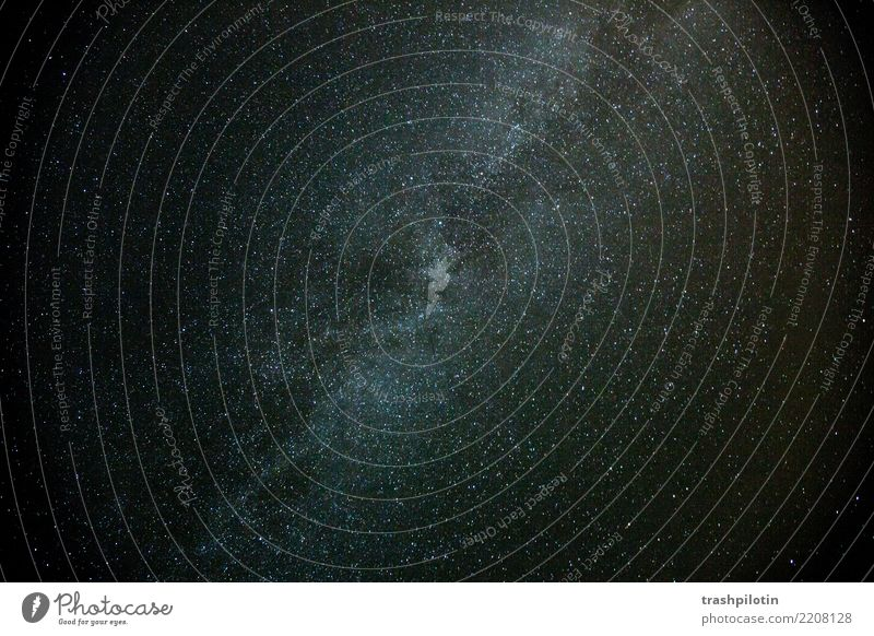 Night Sky Stars Looking Milky way Universe Long exposure Exterior shot Deserted