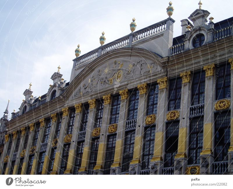 House (Residential Structure) Building Architecture Gold Marketplace Belgium