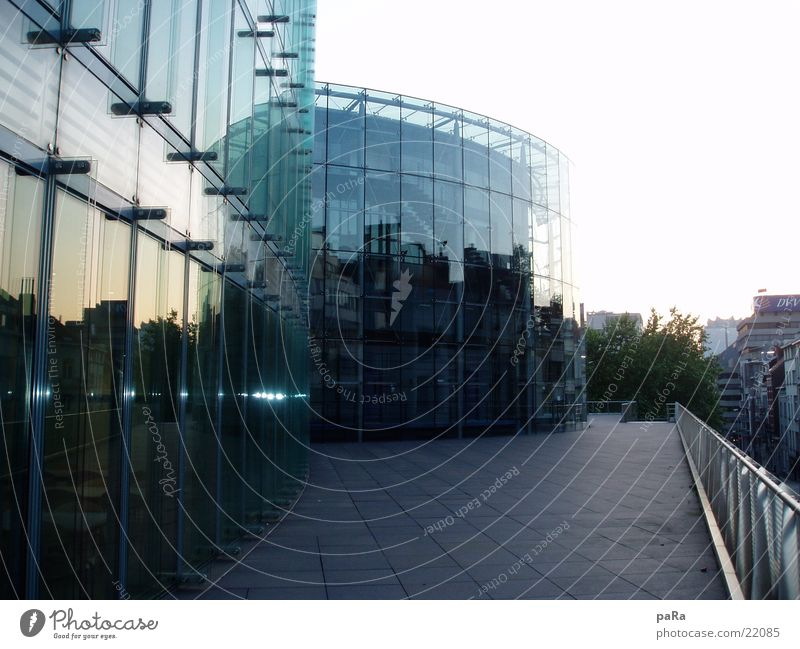 House (Residential Structure) Building Architecture Glass Mirror Belgium Brussels Houses of Parliament