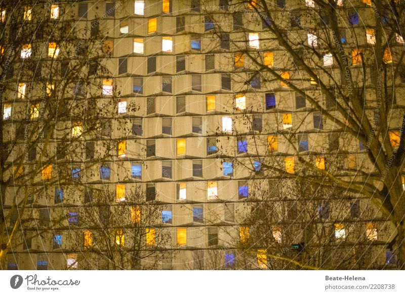 Beautiful Window Lifestyle Feasts & Celebrations Exceptional Party Facade Living or residing Flat (apartment) Illuminate Europe High-rise Glass Happiness