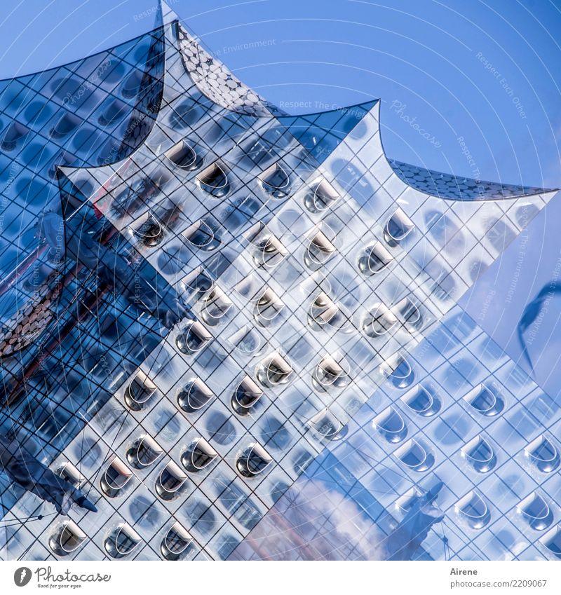 Sky Blue Beautiful White Window Architecture Building Art Exceptional Facade Modern Esthetic Music Creativity Success Culture