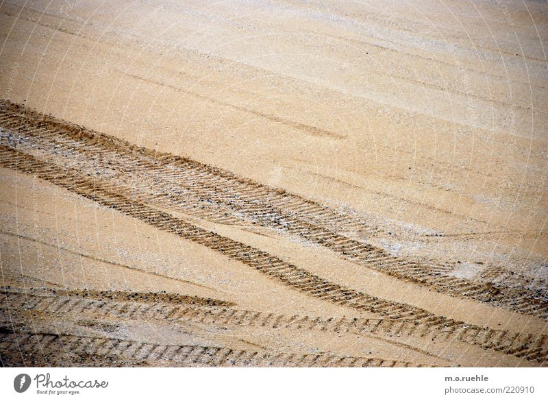 Sand Tracks Furrow Structures and shapes Traffic lane Level