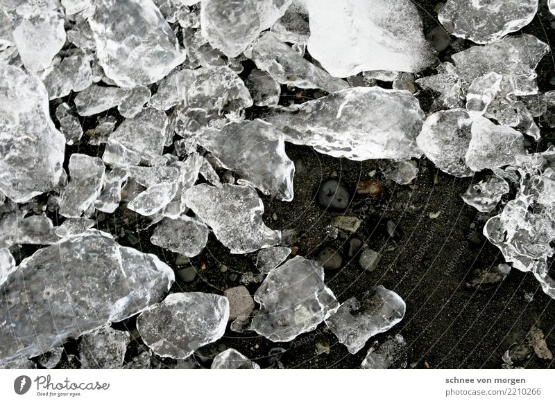 splinter Ice Ground Earth Sand Nature Iceland Cold Splinter Water Winter Stone Clarity Deep depth of field Ice cube