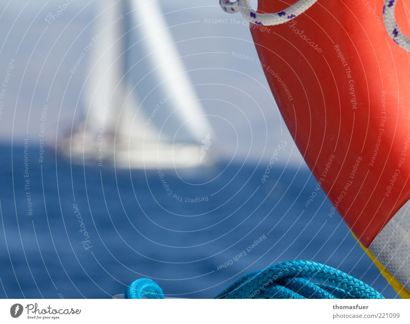 Water Ocean Vacation & Travel Freedom Waves Wind Rope Adventure Leisure and hobbies Joie de vivre (Vitality) Sailing Beautiful weather Sailboat Competition