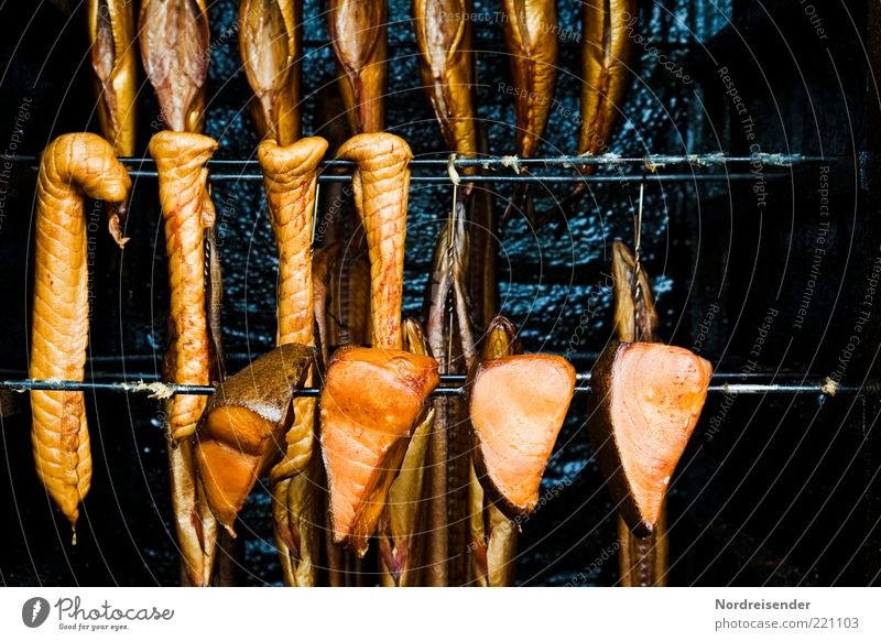 Food Gold Fish Appetite Delicious Fragrance Fat Hang up Seafood Salty Canned Smoked Kipper Impaled Halibut fish Omega 3 fatty acid