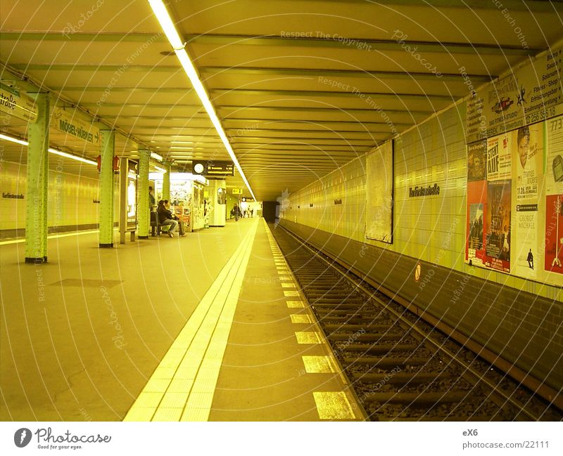 Architecture Railroad Tunnel Underground Subsoil
