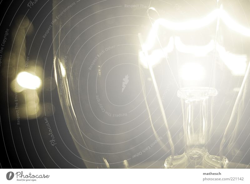 White Warmth Glittering Glass Energy Electricity Round Physics Illuminate Idea Electric bulb Invention Illuminant Filament