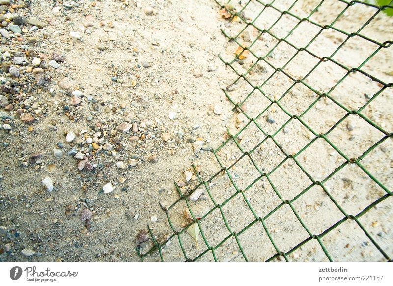 Nature Sand Earth Change Fence Material Gravel Neighbor Heap Loop Stony Sieve Wire netting fence Wire netting