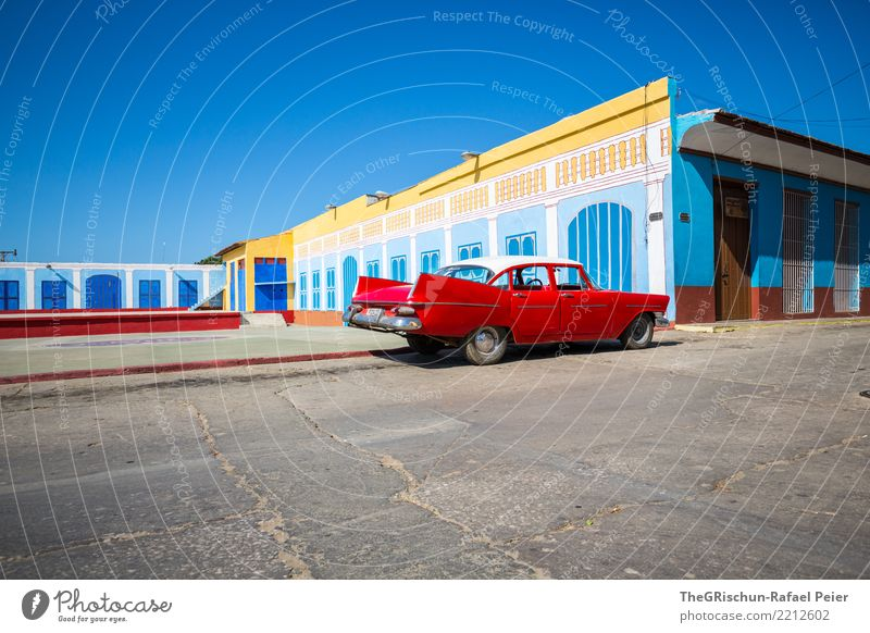 Old Blue Town White Red Black Travel photography Life Yellow Style Building Tourism Car Gold Esthetic Island