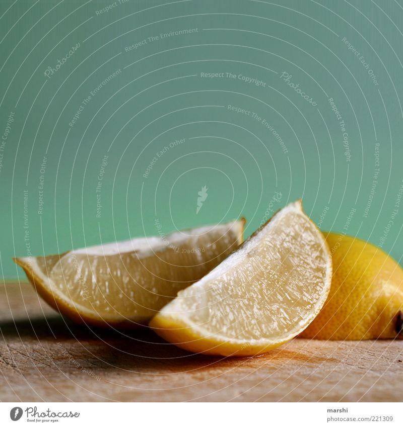 radioactive Food Fruit Nutrition Organic produce Sour Yellow Lemon Lemon yellow Slice of lemon Wooden board Juicy Citrus fruits Sense of taste Flavorsome