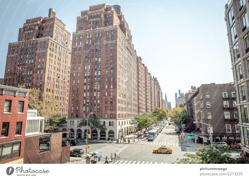 Gorge of houses in Manhattan, New York City Shopping Elegant Style Leisure and hobbies Vacation & Travel Tourism Trip Adventure Far-off places Freedom