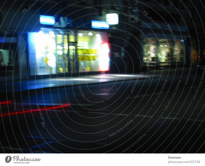 traffic Night Town Transport Long exposure