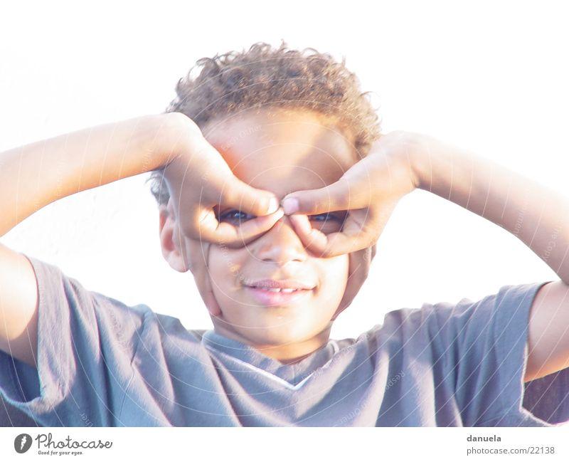 Black Boy Flyer Fingers Hand Airplane Child Boy (child) Laughter Multicoloured