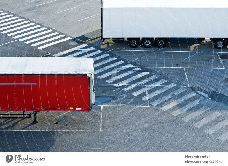 Street Work and employment Lanes & trails Line Planning Road traffic Signs and labeling Safety Logistics Stand Digits and numbers Profession Truck Services