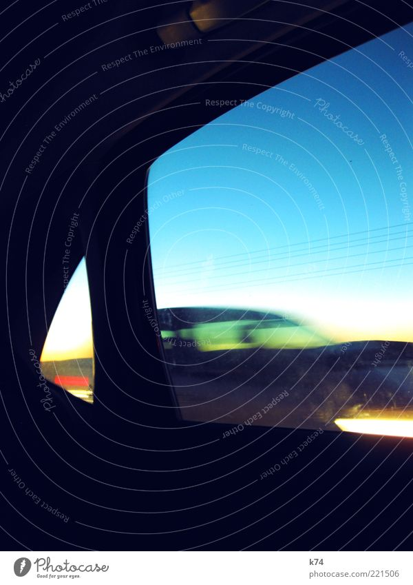 Movement Car Transport Speed Driving Motoring Vehicle Blue sky Motor vehicle Car headlights View from a window