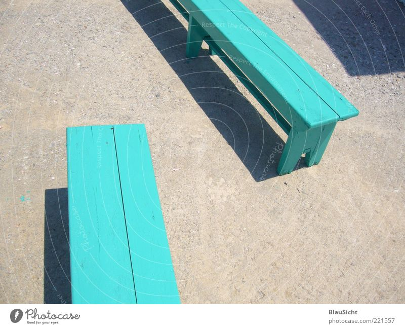 you ... Bench Encounter Esthetic Simple Green Anticipation Together Calm Hope Communicate Colour photo Exterior shot Deserted Day Wooden bench Turquoise Empty