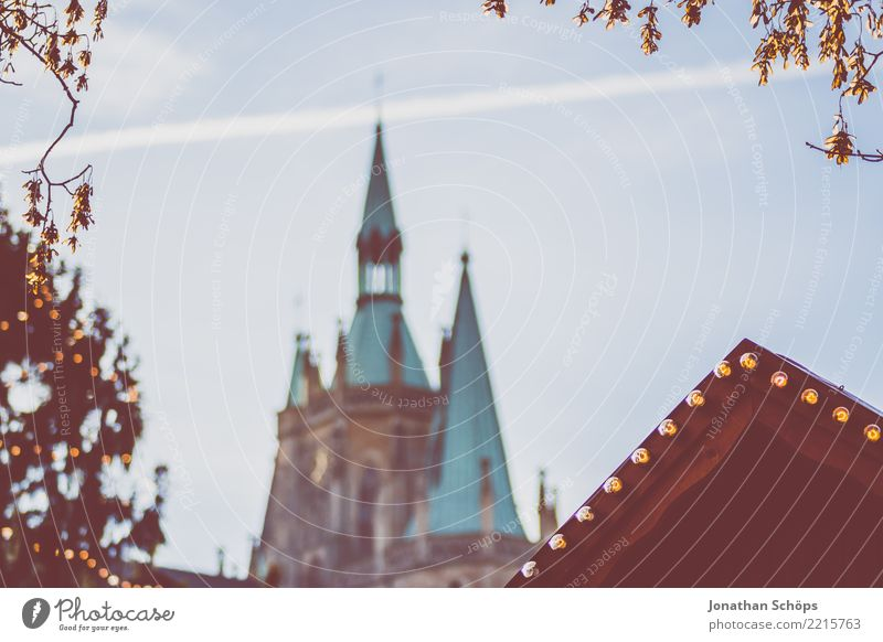 Sky Heaven Christmas & Advent Town Travel photography Religion and faith Architecture Church Europe Point Past Manmade structures Belief Tradition Dome God