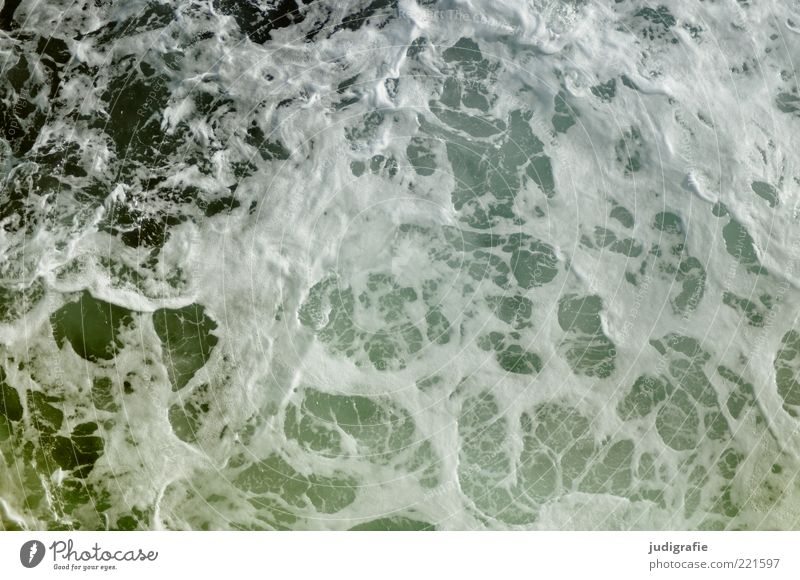 voyage Nature Elements Water Waves Ocean Atlantic Ocean Cold Wet Natural Wild White crest Foam Swell Salty Colour photo Subdued colour Exterior shot Pattern Day