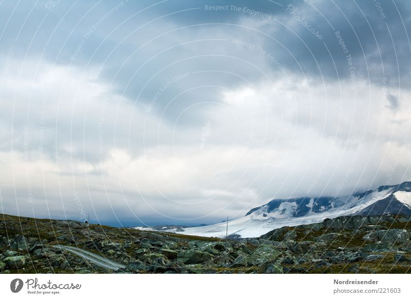 Jotunheimen Vacation & Travel Tourism Adventure Freedom Expedition Mountain Nature Landscape Elements Clouds Climate Climate change Bad weather Peak