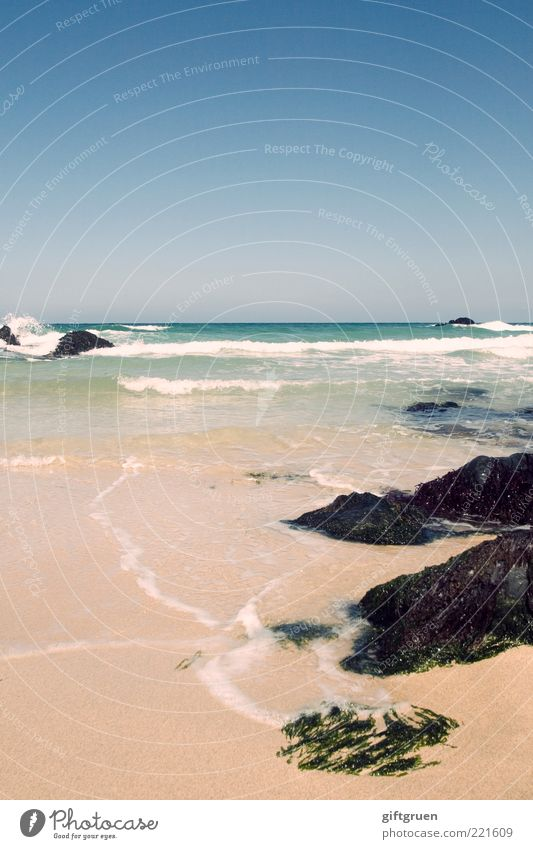 Nature Water Sky Ocean Beach Vacation & Travel Stone Sand Landscape Coast Waves Weather Environment Horizon Rock Island