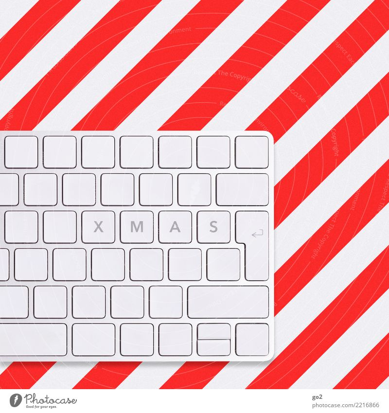 Xmas Christmas & Advent Office work Workplace Media industry Advertising Industry Closing time Computer Keyboard Hardware Technology Information Technology