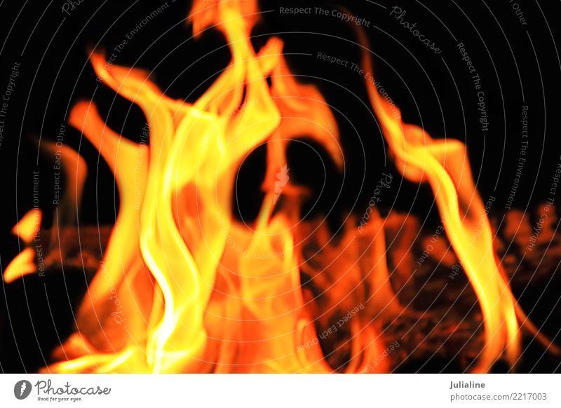 red flame on the black background Stove & Oven Movement Bright Yellow Red Black Energy Colour fire heat burn Inferno orange burnt blazing Hell danger glowing