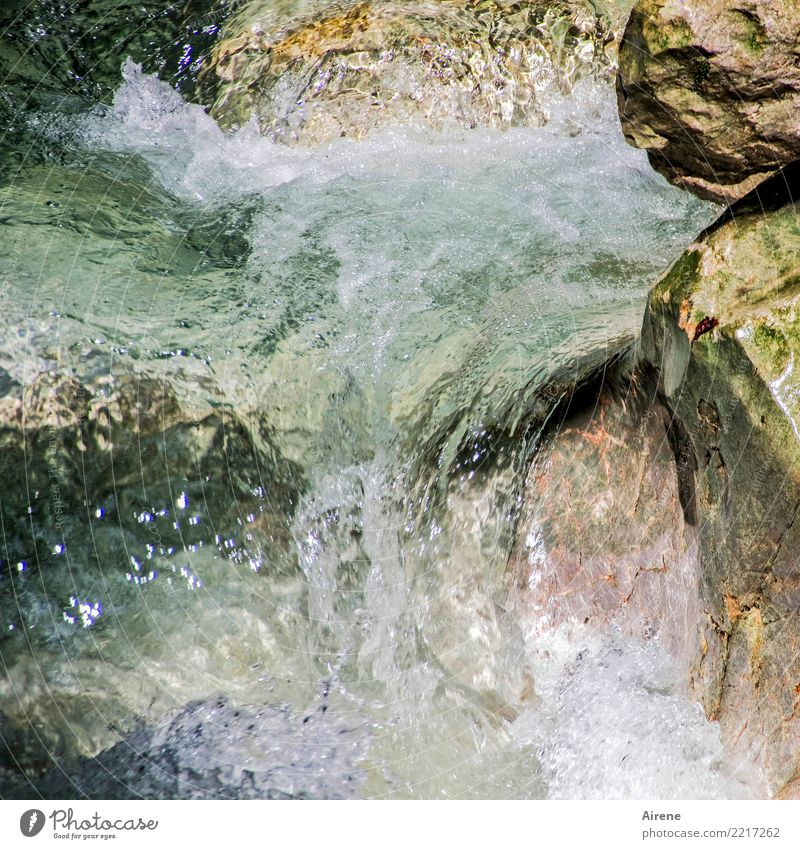 There's plenty of water to go down the drain. Nature Elements Water Rock Canyon Brook Waterfall Mountain stream Stone Fresh Gigantic Wet Natural Strong Pink