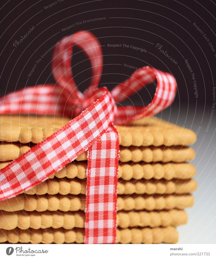 Food Nutrition Decoration Gift Appetite Candy Delicious Checkered Packaging Stack Baked goods Bow Dessert Cookie Package Occasion