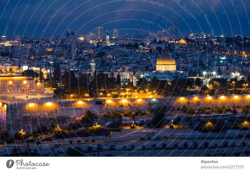 The dark side | of Jerusalem West Jerusalem Palestine Asia Town Downtown Old town Church Dome Palace Castle Ruin Dome of the rock Tourist Attraction Landmark