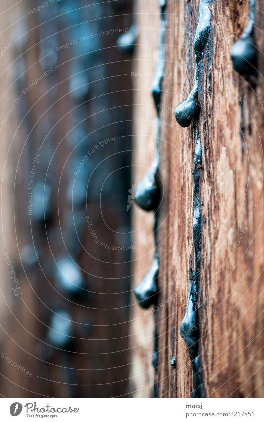 Dark Wood Simple Drop Creepy Tar