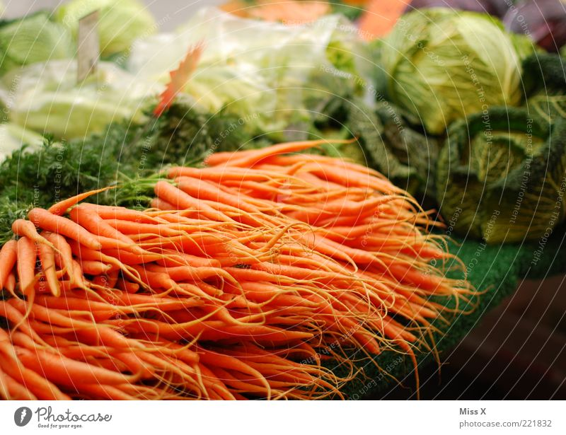vegetable market Food Vegetable Nutrition Organic produce Vegetarian diet Fresh Healthy Delicious Market stall Vegetable market Greengrocer Carrot Cabbage