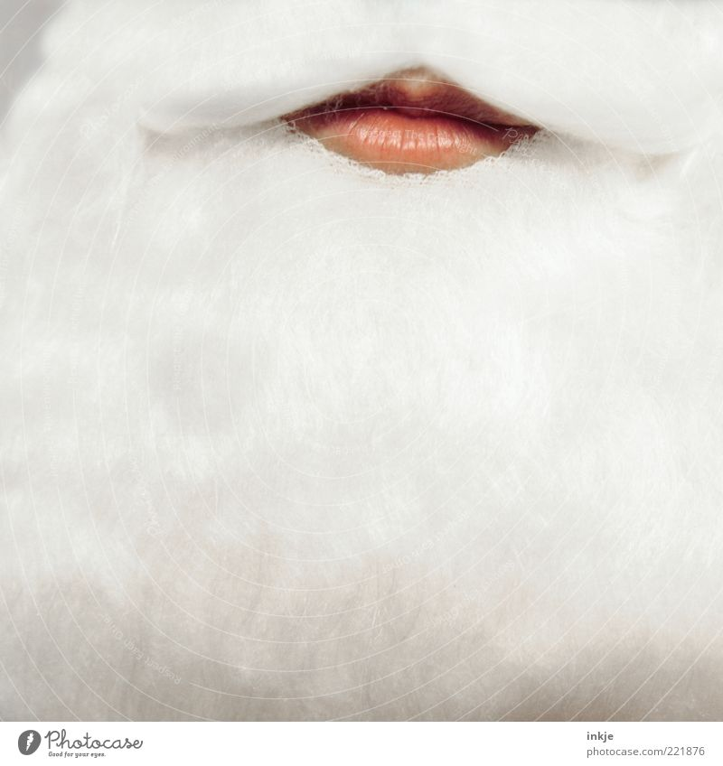 Christmas & Advent Emotions Feasts & Celebrations Moody Uniqueness Mysterious Belief Desire Serene Lips Mask Tradition Facial hair Anticipation Santa Claus