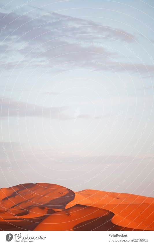 #A# Desert red Environment Nature Esthetic Sahara Dune Red Orange Drought Morocco Colour photo Subdued colour Exterior shot Experimental Abstract Deserted