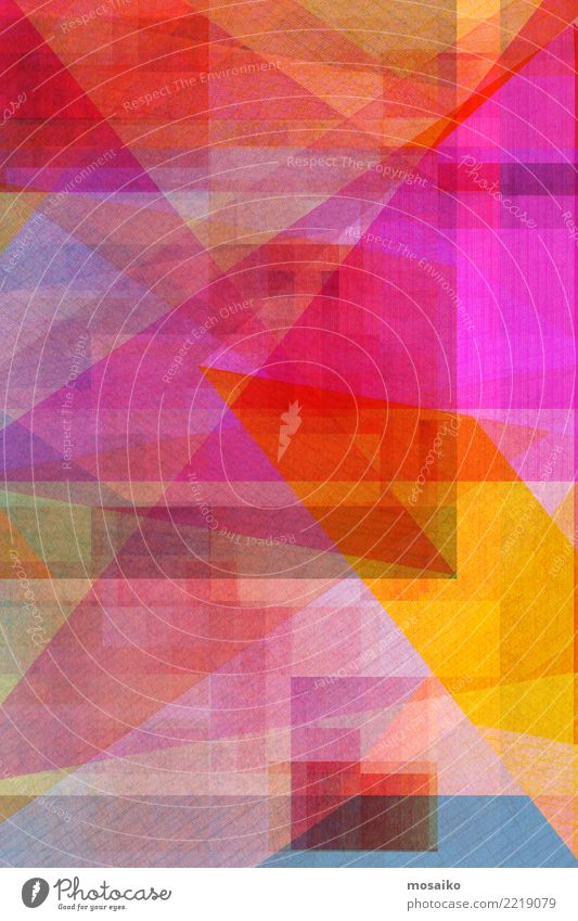 colorful geometric background - colored texture Colour Red Yellow Style Art Business Pink Design Line Retro Decoration Modern Elegant Creativity Fantastic