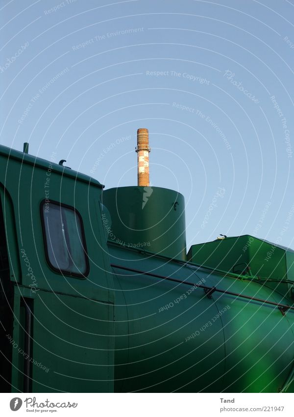 Sky Green Industry Factory Tower Exceptional Bizarre Chimney Industrial plant Engines