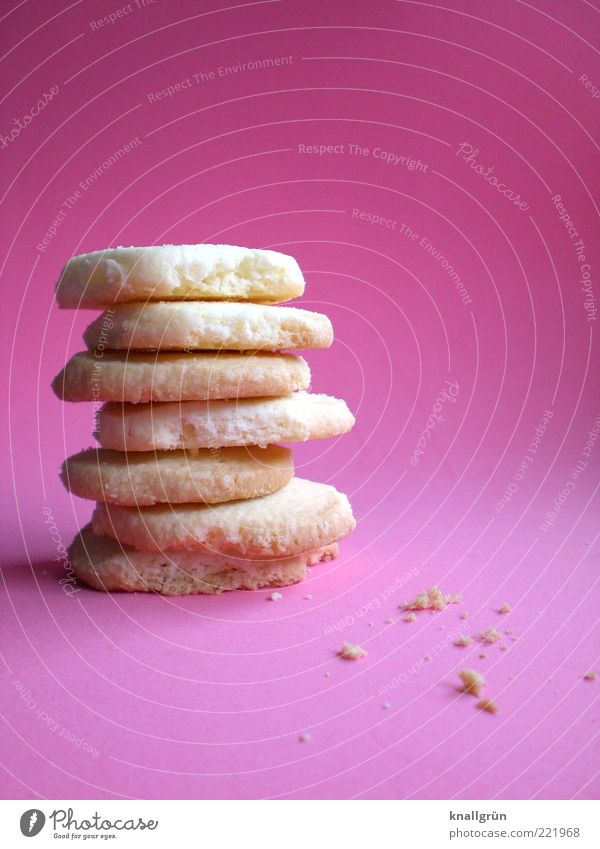 White Emotions Food Bright Pink Lie Multiple Sweet Round Delicious Fragrance To enjoy Stack Tradition Baked goods Cookie