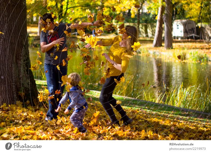 Child Woman Human being Nature Youth (Young adults) Man Young woman Young man Leaf Joy 18 - 30 years Adults Environment Autumn Funny Natural