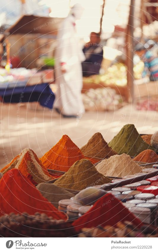 #A# Spice market Herbs and spices Esthetic Markets Marketplace Market day Spice store Curry powder Arabia Oriental Food Near and Middle East Colour photo