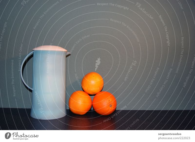...tea and oranges that come all the way from China... Food Fruit Orange Nutrition Beverage Hot drink Tea Thermos coffee pot Design Esthetic Colour Inspiration