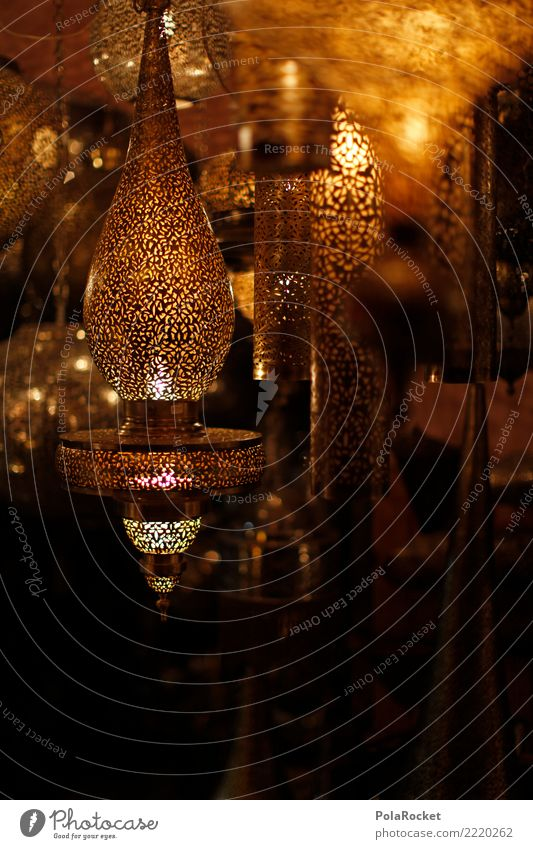 #A# Lights Market Art Work of art Esthetic Lamp Light (Natural Phenomenon) Flare Visual spectacle Bright spot Near and Middle East Arabia Gold Many Blur