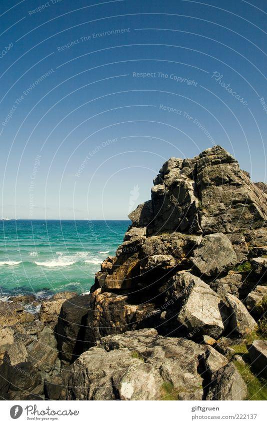 Nature Water Sky Beautiful Ocean Stone Landscape Waves Coast Environment Weather Horizon Rock Natural Peak Elements
