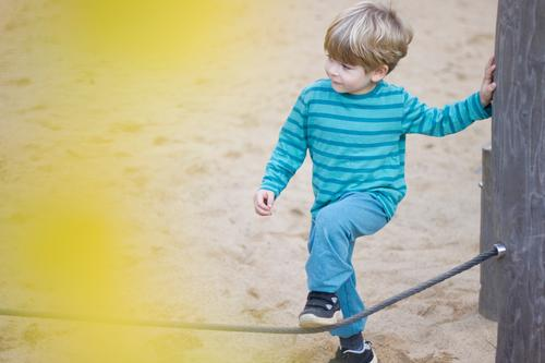 Child Human being Joy Yellow Movement Boy (child) Small Playing Sand Leisure and hobbies Infancy Authentic Beginning Safety Trust Turquoise