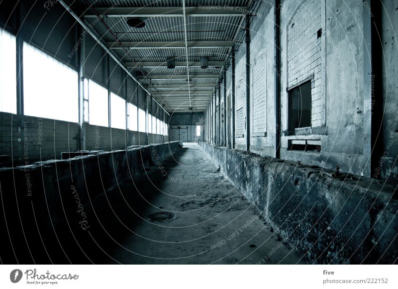 room03 Workplace Industry Industrial plant Factory Manmade structures Building Wall (barrier) Wall (building) Window Old Dark Cold Hall Warehouse Storage Depot
