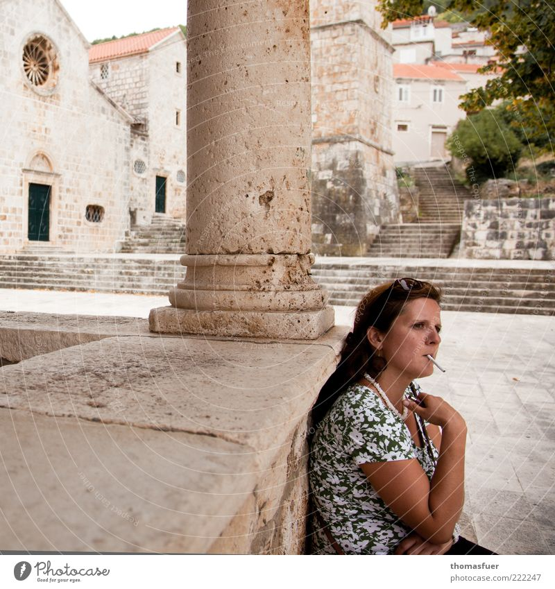 siesta Vacation & Travel Tourism Trip Sightseeing City trip Summer Human being Feminine Young woman Youth (Young adults) Woman Adults 1 30 - 45 years Town