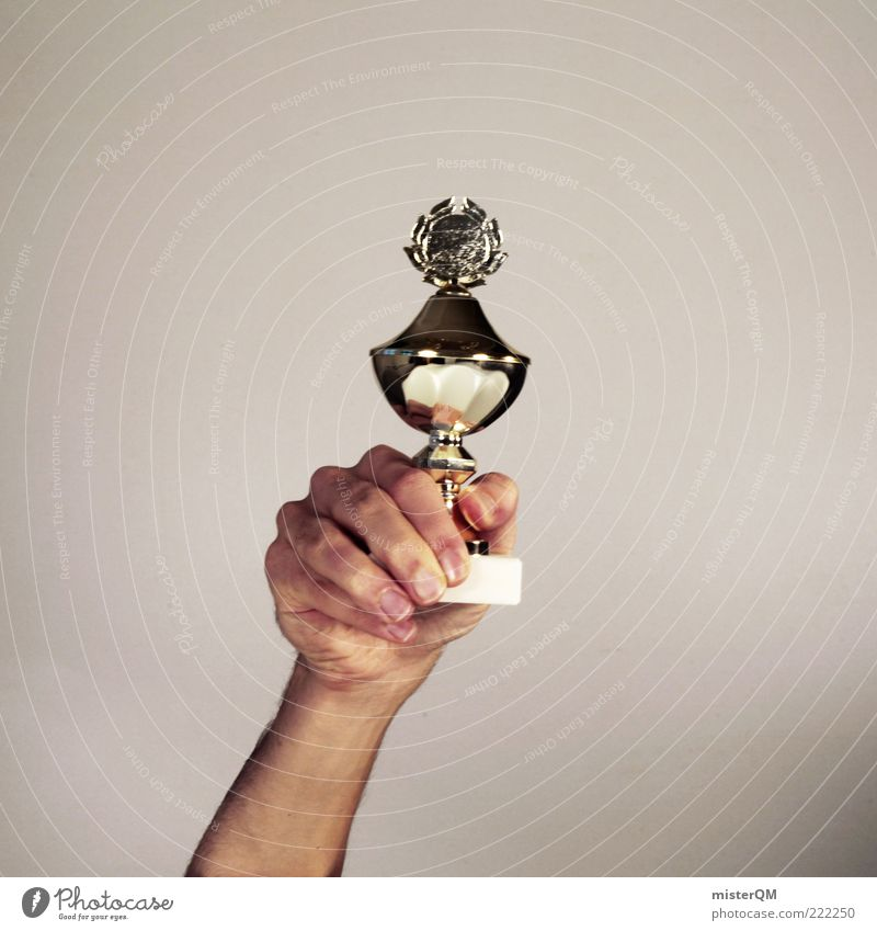 Placeholder. Cup (trophy) Success Prospect of success First Symbols and metaphors Gold Award ceremony Medal Confident of victory Competition Sporting event