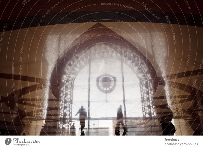 Human being Vacation & Travel Architecture Art Brown Elegant Tourism Exceptional Floor covering Manmade structures Kitsch Mysterious Luxury Train station Exotic