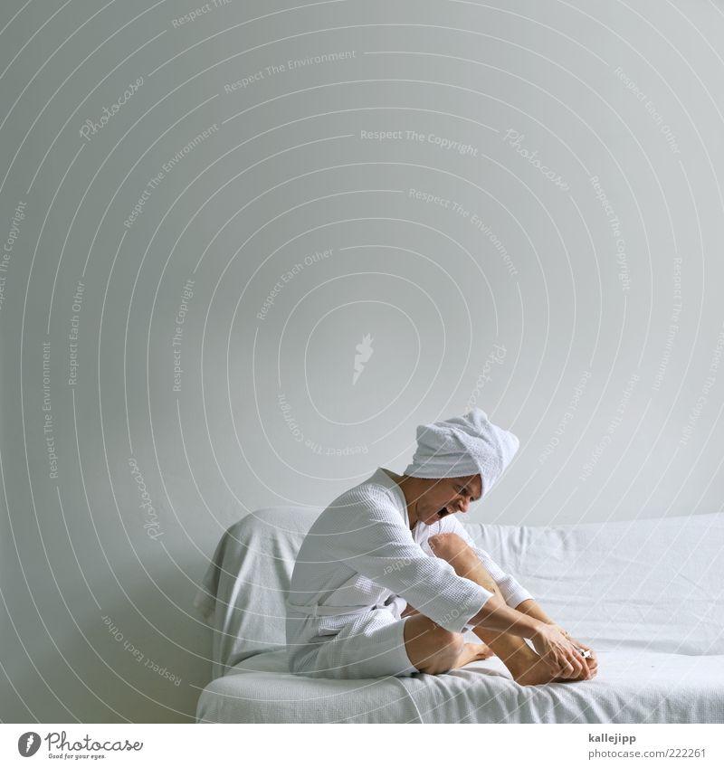 Human being Man White Beautiful Adults Life Fear Sit Masculine Wellness Wrinkles Pure Sofa Pain Scream Cosmetics