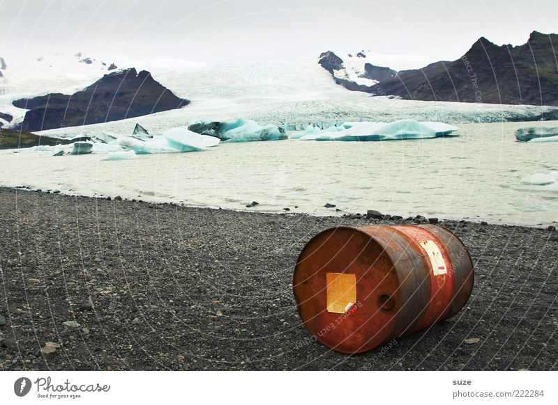 barrel distortion Environment Nature Landscape Water Climate Climate change Weather Mountain Peak Glacier Coast Lakeside Glacial melt Mountain lake