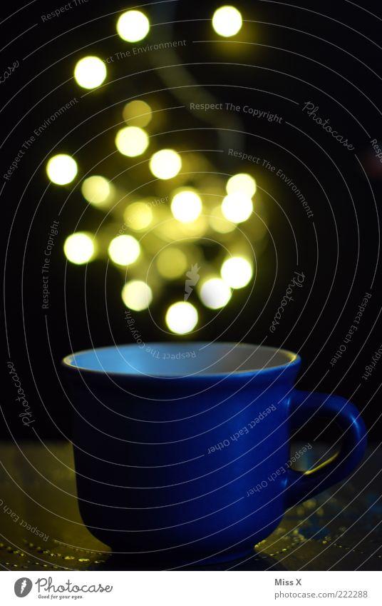 Blue Bright Beverage Point Illuminate Cup Magic Mug Carry handle Hot drink